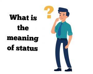 Status meaning in Hindi | स्टेटस का मतलब हिंदी में