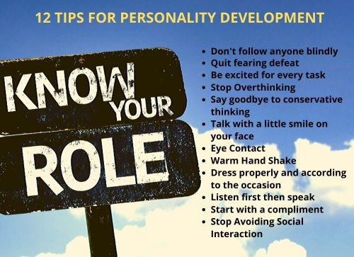 -tips for personality development | BOOKMARK STATUS