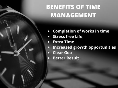 Top 5 Benefits of time management