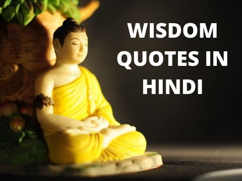 Wisdom Quotes in Hindi – (बुद्धिमत्ता पर अनमोल वचन)