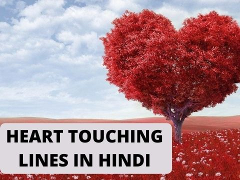 99+ Beautiful Heart Touching Lines in Hindi