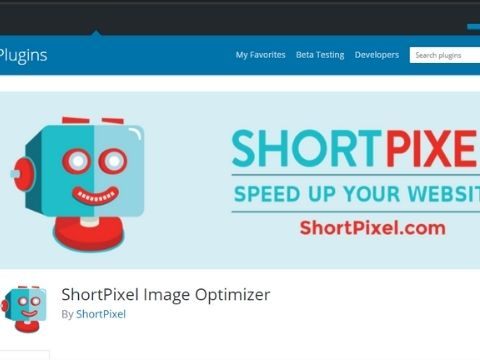 Shortpixel Optimizer wordpress plugin