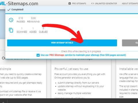 sitemap कैसे बनाये