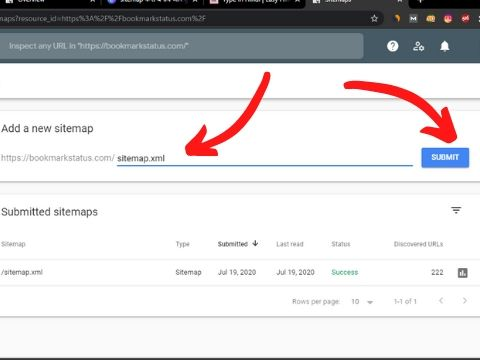search console me apna sitemap kaise submit kare