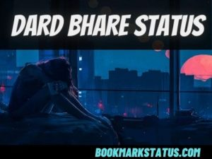 99+ Dard Bhare Status in Hindi