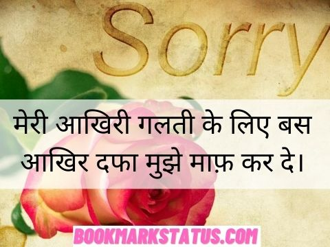 im sorry quotes in hindi