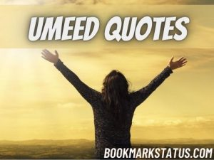 30+ Umeed Quotes in Hindi