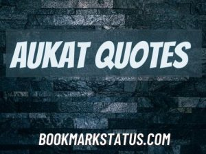 40 Best Aukat Quotes in Hindi