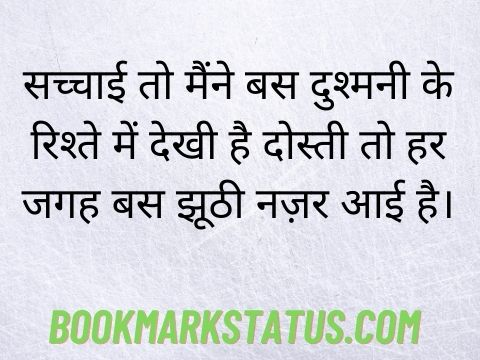 fake people status in hindi