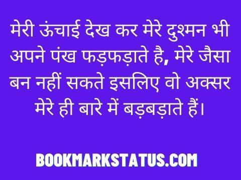 hindi dadagiri status