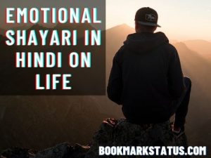 Read more about the article 45+ Emotional Shayari in Hindi on Life