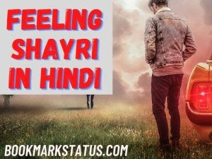 Read more about the article 45 Best Heart Touching Feeling Shayari in Hindi