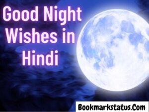 40 Best Good Night Wishes in Hindi