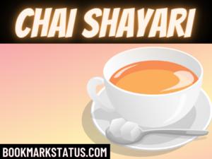 40+ Chai Shayari (चाय पर शायरी )