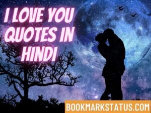Read more about the article 29+ I Love You Quotes in Hindi