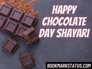 Happy Chocolate Day Shayari 2021