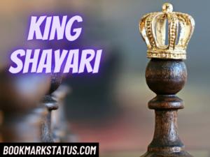 30 Best King Shayari in Hindi for Fb and Whatsapp