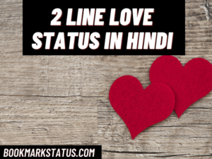 39+ Best 2 line love status in Hindi