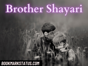 41+ Best Brother Shayari in Hindi with images