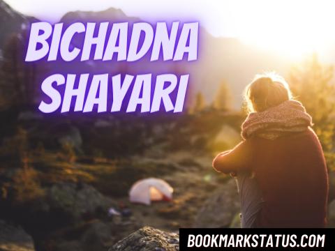 25 Sad Bichadna Shayari