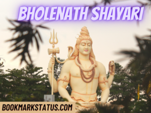 Read more about the article 50 Best Bholenath Shayari