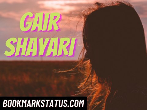 Read more about the article 25 Best Gair Shayari